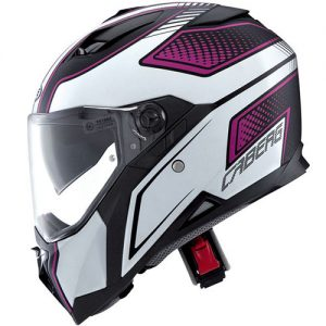 caberg-stunt-blade-motorcycle-helmet-matt-black-pink-side-view