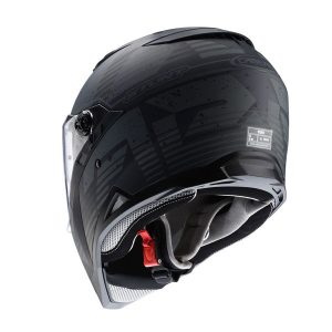 caberg-stunt-motorbike-helmet-blizzard-black-anthracite-rear-view