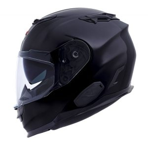 nexx-xt1-plain-matt-black-crash-helmet-side-view