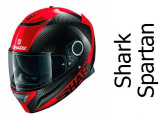Shark Spartan carbon skin DDR