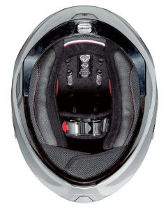 nolan-n87-silver-crash-helmet-inside-view