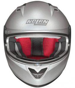 nolan-n64-twirl-silver-motorbike-crash-helmet-front-view