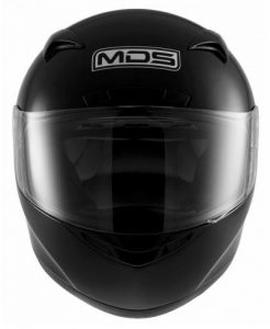 mds-m13-gloss-black-motorcycle-crash-helmet-front-view