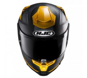 hjc-rpha-70-motorcycle-crash-helmet-octar-black-yellow-front-view