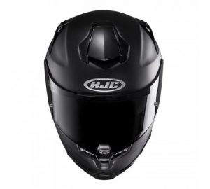 hjc-rpha-70-motorcycle-crash-helmet-semi-flat-black-front-view