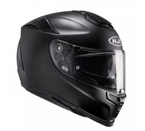 hjc-rpha-70-motorcycle-crash-helmet-semi-flat-black-side-view