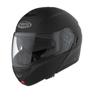 Caberg-Levante-matt-black-modular-motorbike-crash-helmet