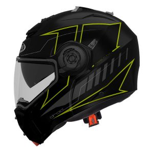 caberg-droid-modular-crash-helmet-black-yellow-blaze-side-view