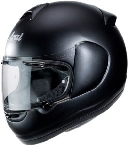 arai-axcess-iii-frost-black-motorcycle-crash-helmet-side-view