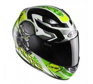 hjc cs-15 rafu motorcycle crash helmet side view