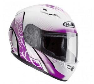 hjc cs-15 valenta motorcycle crash helmet side view