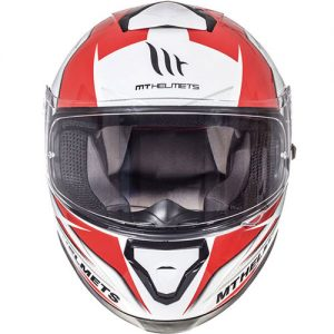 MT-Thunder-3-motorbike-helmet-red-white-trace-front-view