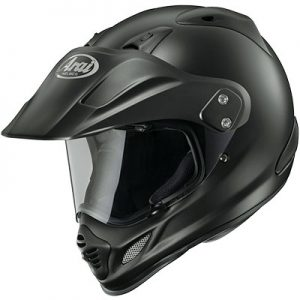 arai-xd4-black-frost-adventure-helmet-top-side-view
