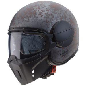 caberg ghost rust motorbike helmet side view 400