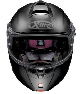 x-lite-x-1004-flip-front-motorcycle-crash-helmet-front-view-matt-black