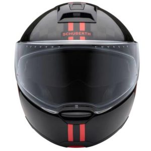schuberth-c4-pro-carbon-fusion-red-helmet-front-view