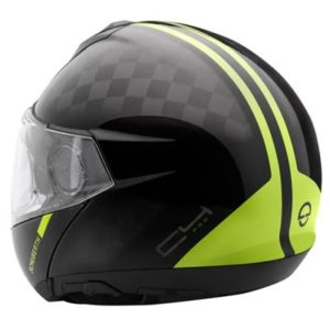 schuberth-c4-pro-carbon-fusion-yellow-helmet-rear-view