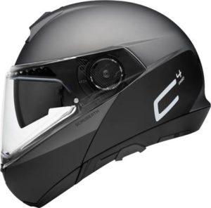 schuberth-c4-pro-swipe-grey-flip-up-helmet-side-view