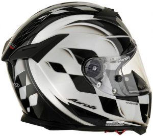 Airoh-GP-500-Drive-black-white-motorcycle-helmet-side-view