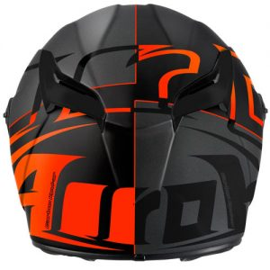 airoh-gp-500-sectors-motorcycle-crash-helmet-in-orange-grey-rear-view