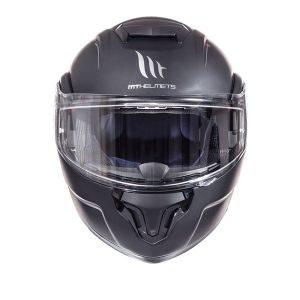 MT-Atom-helmet-Solid-Matt-Black-front-view