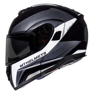 MT-Atom-tarmac-black-white-crash-helmet-side-view
