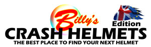 Billy\'s Crash Helmets Logo