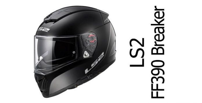 445cd9a367f LS2 FF390 Breaker full face motorcycle helmet review - Billys Crash ...