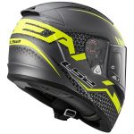ls2-ff390-breaker-splits-helmet-titanium-hi-viz-yellow-rear-view