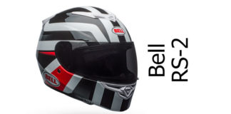 Bell RS2 motorcycle helmet featured