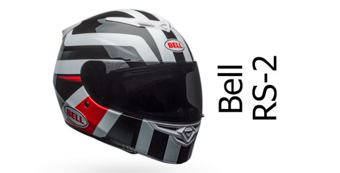 Bell RS2 motorcycle helmet featured