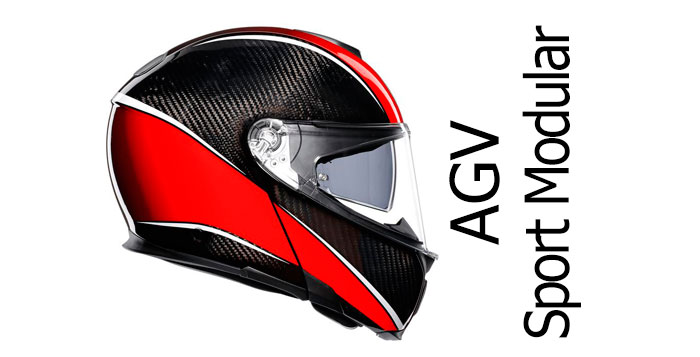 Agv Sport Modular A Flip Up Helmet For Sports Bikes Billys Crash Helmets