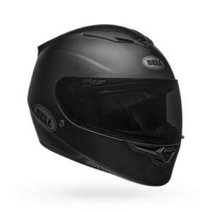 bell-RS2-matte-black-motorcycle-crash-helmet-front-side-view