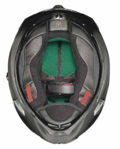 x-lite x 803 crash helmet inside view