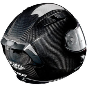 x-lite-x-803-gloss-black-carbon-crash-helmet-rear-view