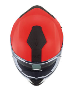 Nexx-sx100-orion-white-red-motorcycle-helmet-top-view
