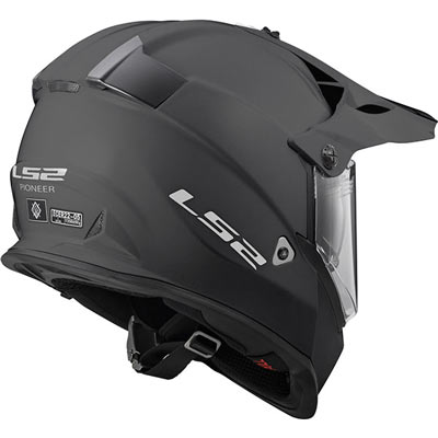 c49c9e1f LS2s budget adventure dual sport helmet: the LS2 Pioneer - Billys ...