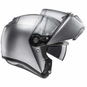 HJC-RPHA-90-silver-modular-crash-helmet-side-view-open