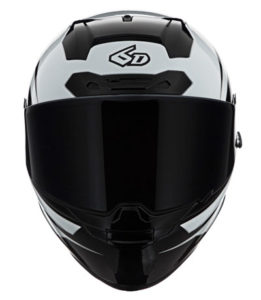 6D-ATS-1-full-face-helmet-in-white-black-front-view