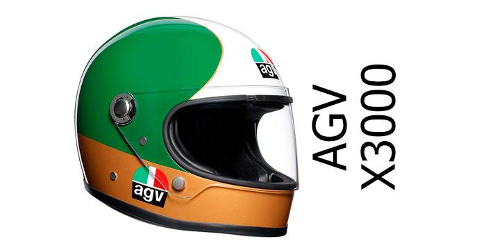 Agv X3000 Retro Full Face Helmet Review At Billys Crash Helmets