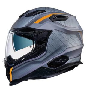 Nexx X.WST2-motrox titanium street helmet side view
