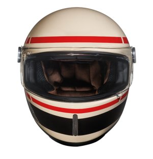 Nexx XG100R racing record retro helmet front view