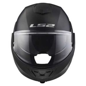 ls2-valiant-solid-matt-black-modular-crash-helmet-front-view