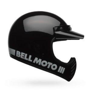 Bell-Moto3-classic-black-crash-helmet-side-view