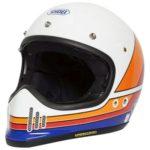 Shoei Ex-Zero motorcycle helmet Equation TC-2 front side view