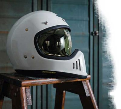 fbb480a0 Shoei's new retro street helmet with bags of attitude (and ...