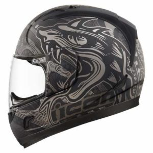 icon alliance crash helmet oro boros side view