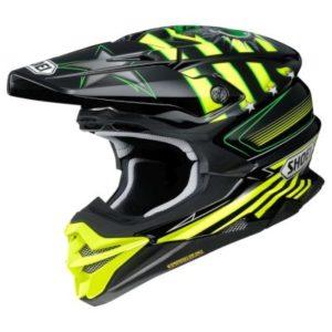 shoei vfx evo josh grant motocross crash helmet side view