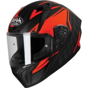 airoh-valor-impact-red-black-motorbike-helmet-side-view