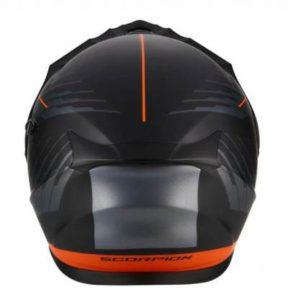 scorpion exo adx 1 dual modular dual sport helmet rear